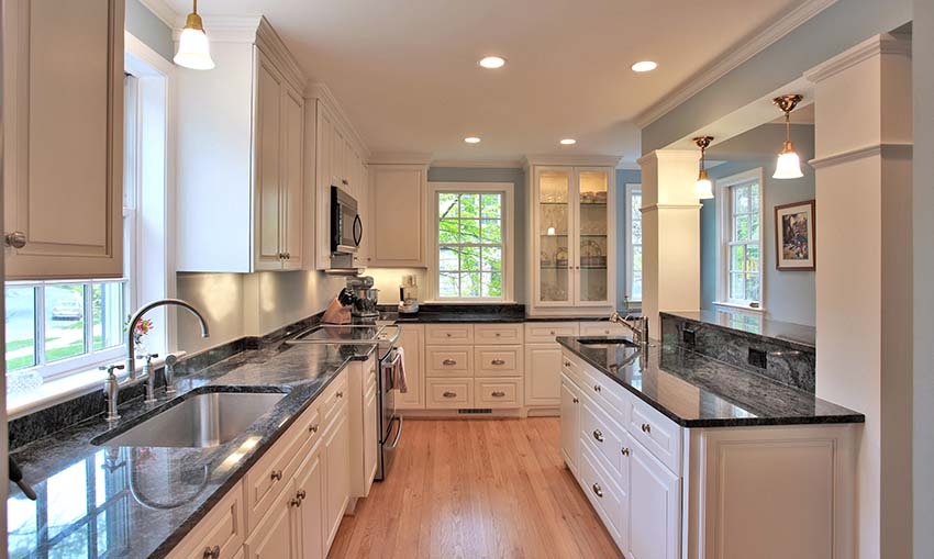 A remodeled kitchen